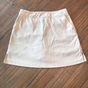 Lady Hagen size 4 light tan athletic golf skort